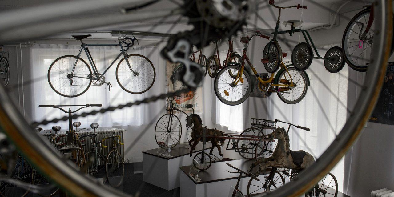 Kerékpármúzeum Balassagyarmaton