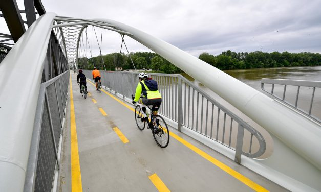 Körbeért a Tisza-tavi kerékpárút