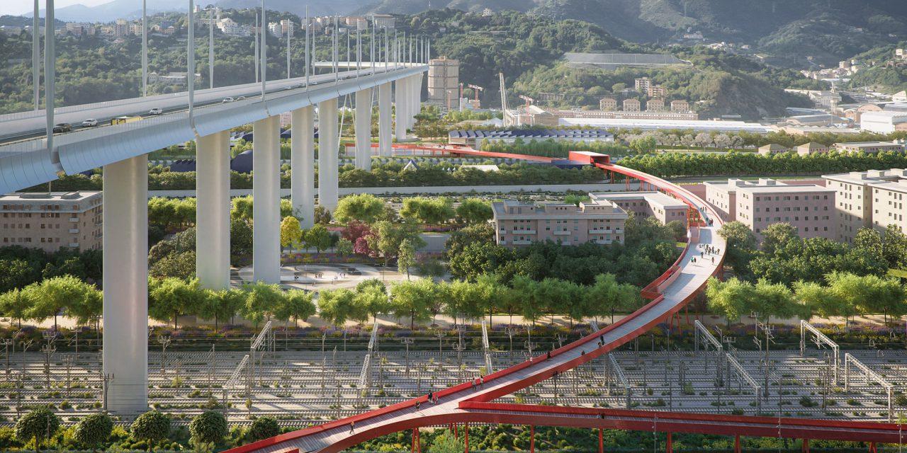 Megkezdték az új híd egyhetes tesztelését Genovában