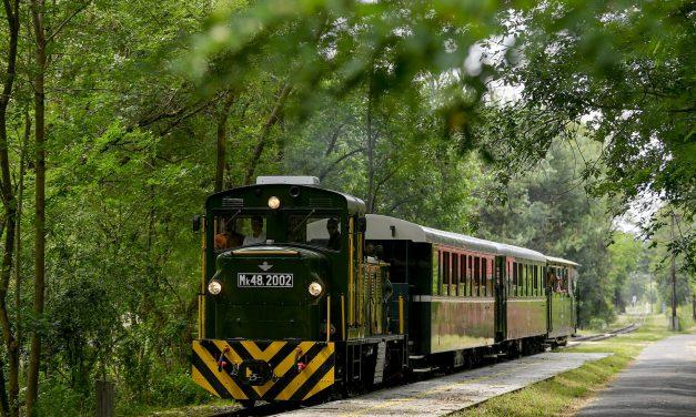 Megújult a keskeny nyomtávú vasút Debrecenben