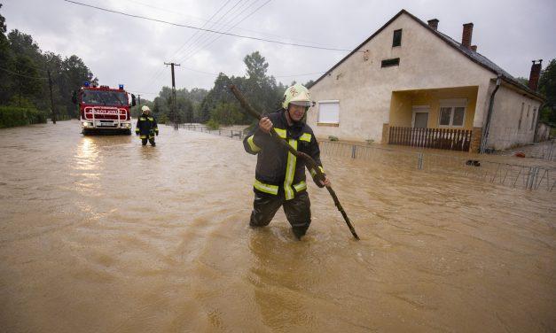 Műszaki segítséget nyújt és a helyreállítás előkészítését végzi a vízügy a hétvégi esőzések után