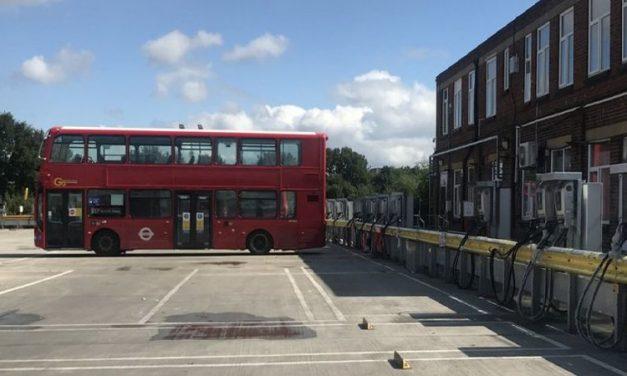Virtuális erőművé válhat egy észak-londoni buszgarázs