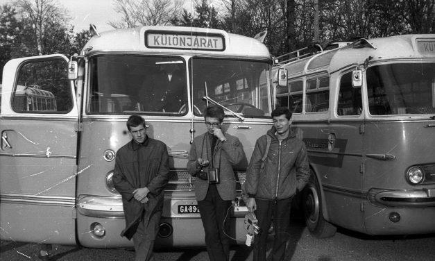 Ikarus autóbuszok mutatkoznak be az Aeroparkban