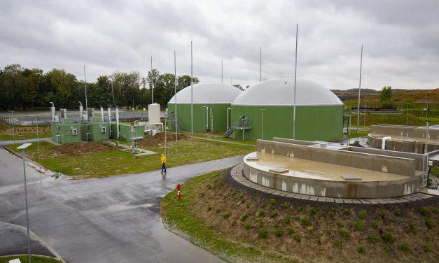 Átadták az új kaposvári szennyvíztisztítót