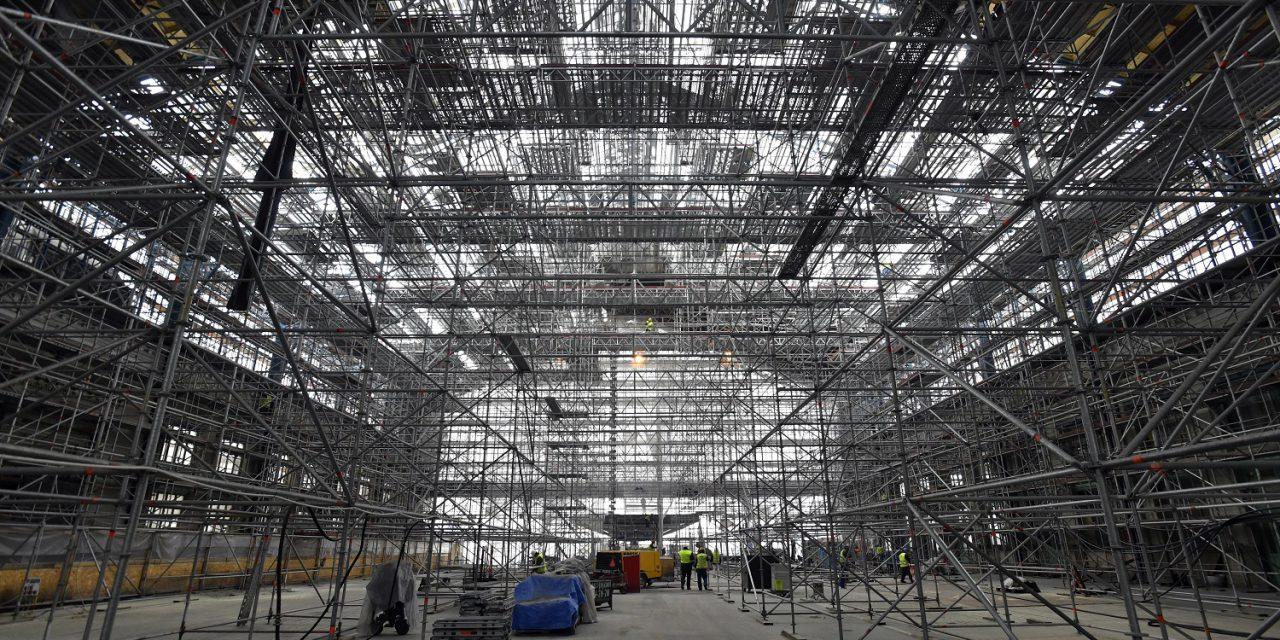 Csökkent az euróövezeti építőipari termelés