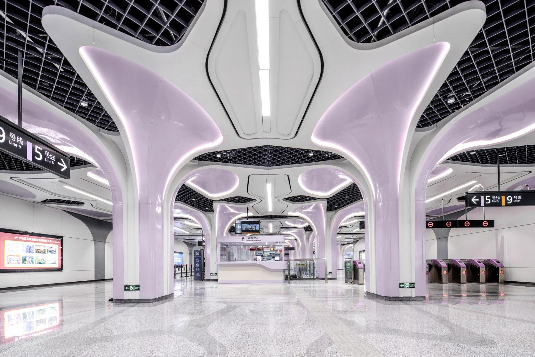 Új, teljesen automatizált metróvonal épült Kínában