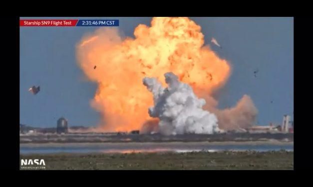 SpaceX baleset