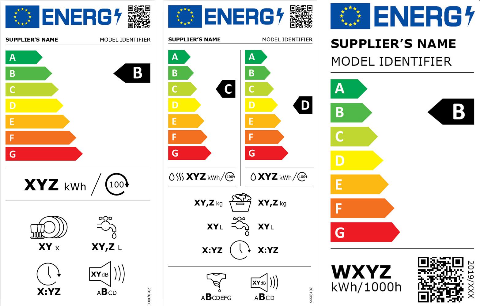 Mostantól kötelező az új uniós energiacímkék használata