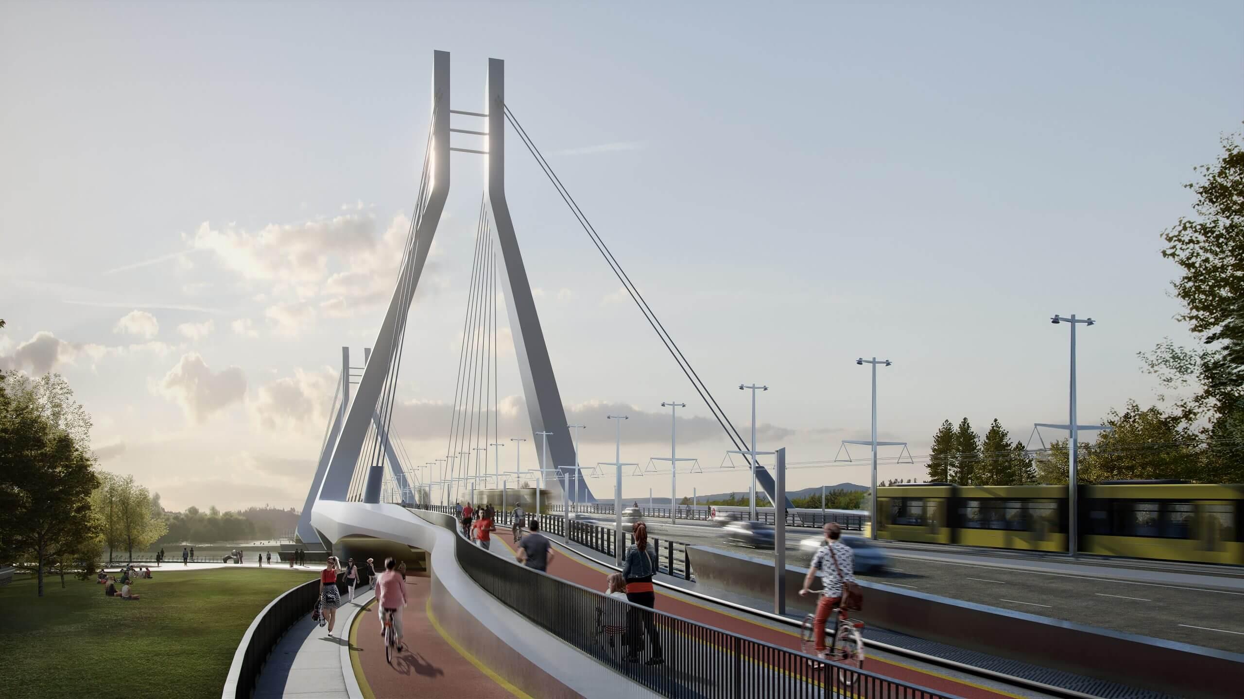 BFK: indul a villamosvonal tervezése a majdani Galvani hídon