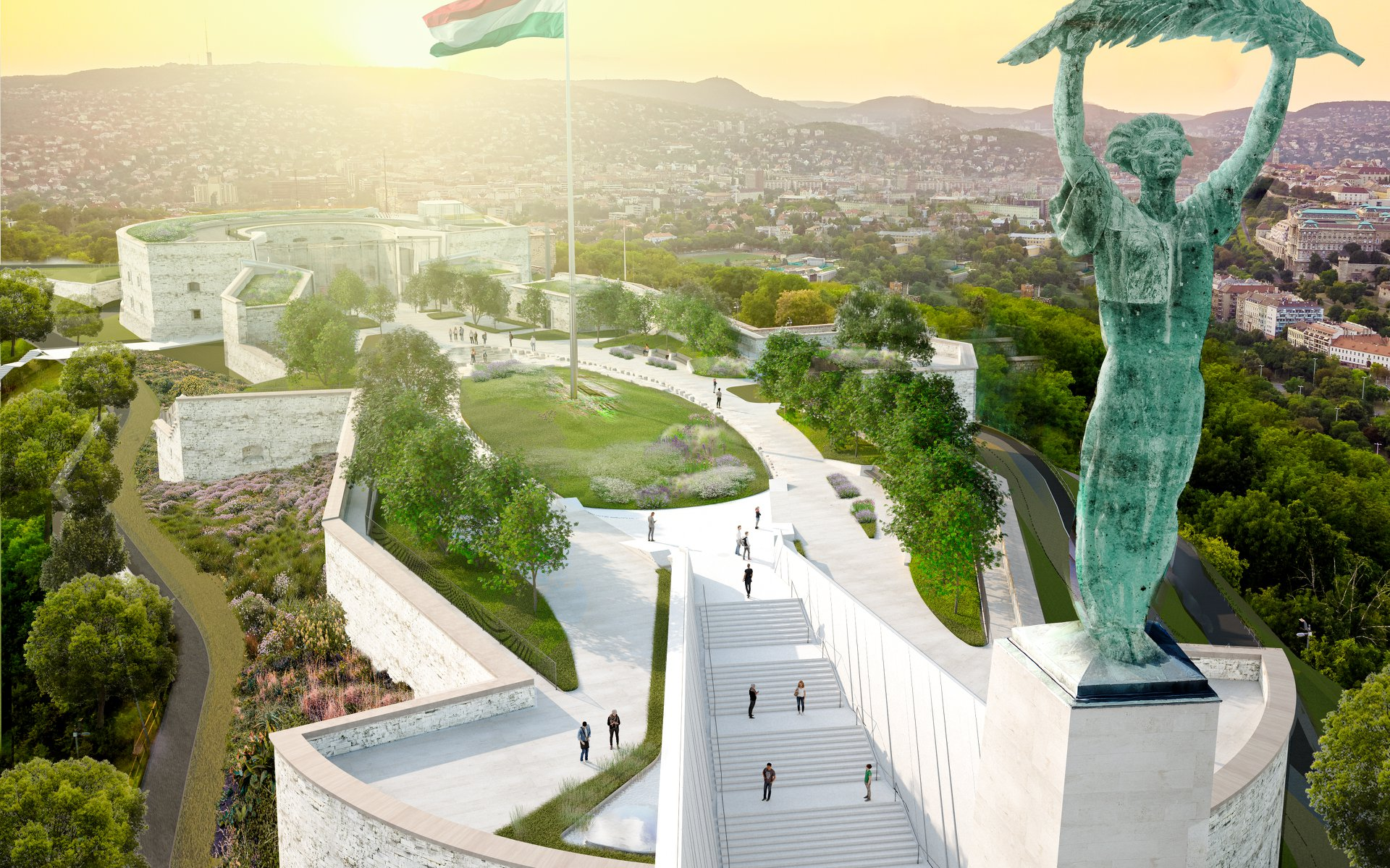Zöldebb és nyitottabb lesz a Citadella