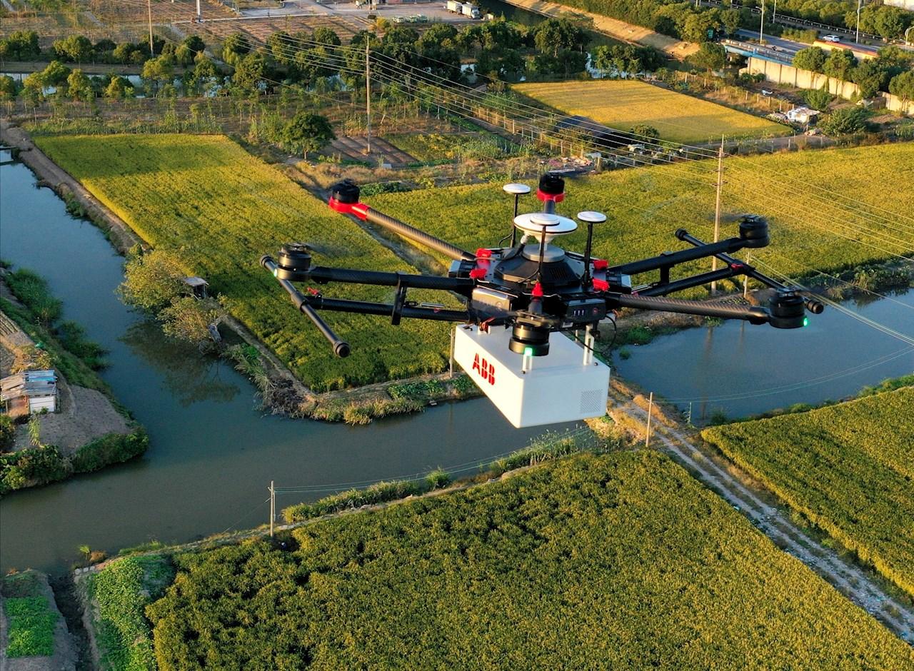 Drónra telepített gázszivárgás mérő