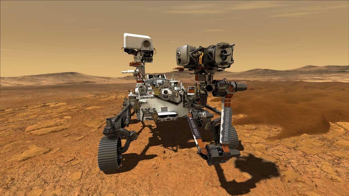 Megkezdte első tudományos kutatássorozatát a Marson a Perseverance
