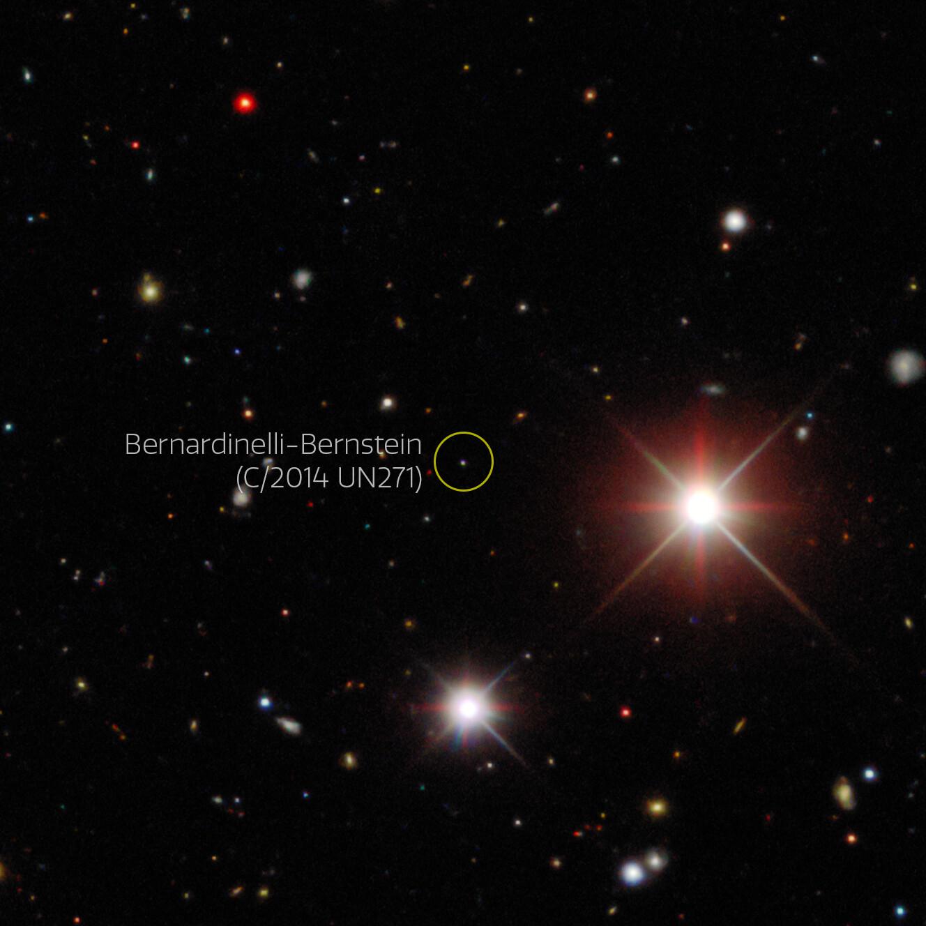 A valaha látott legnagyobb üstököst fedezték fel tudósok
