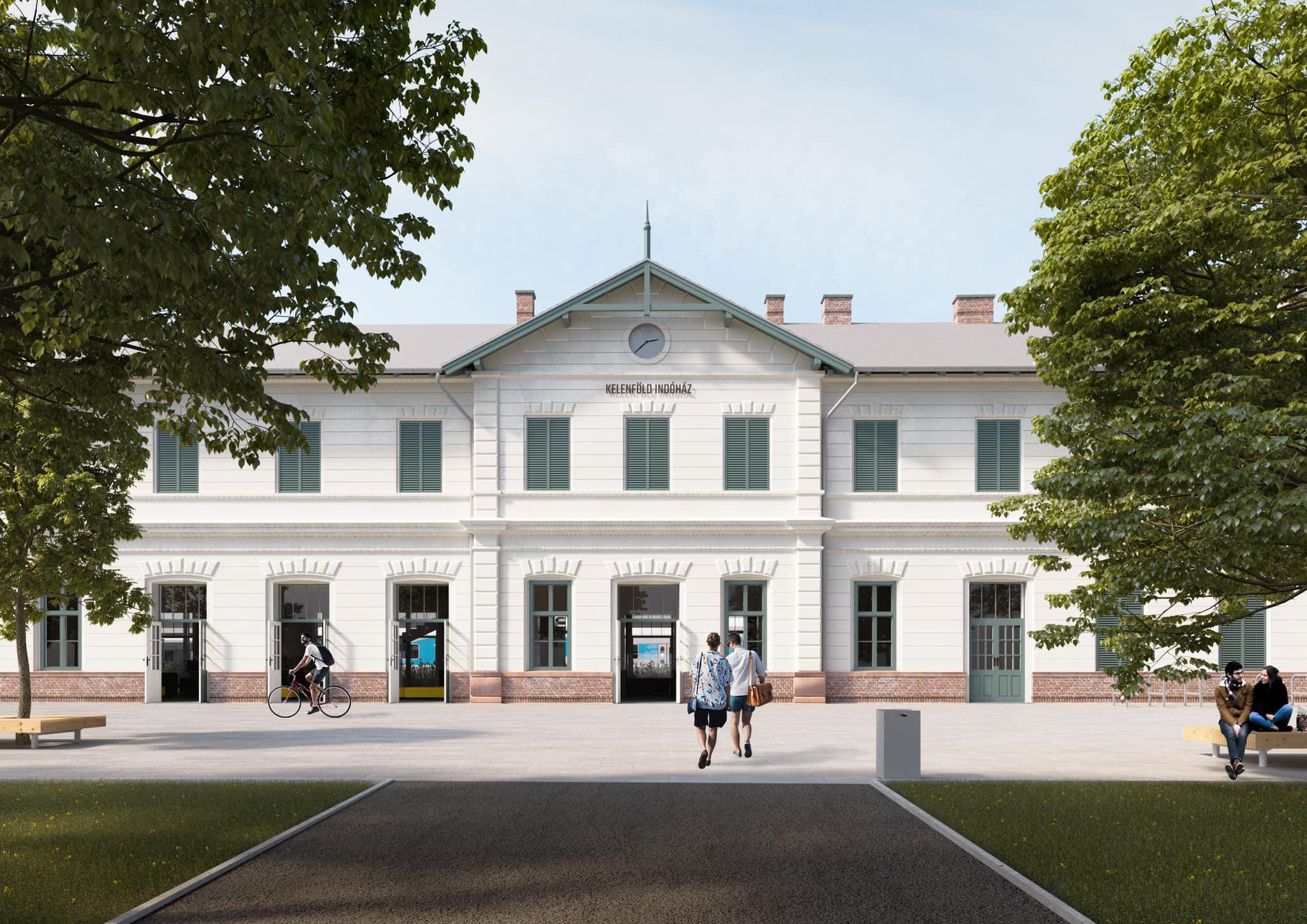 Megkapta az építési engedélyt a Kelenföldi Indóház felújítása