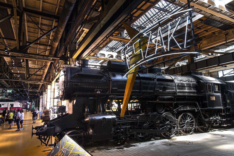 Az Északi járműjavítóban nyitott kiállítást a Közlekedési Múzeum