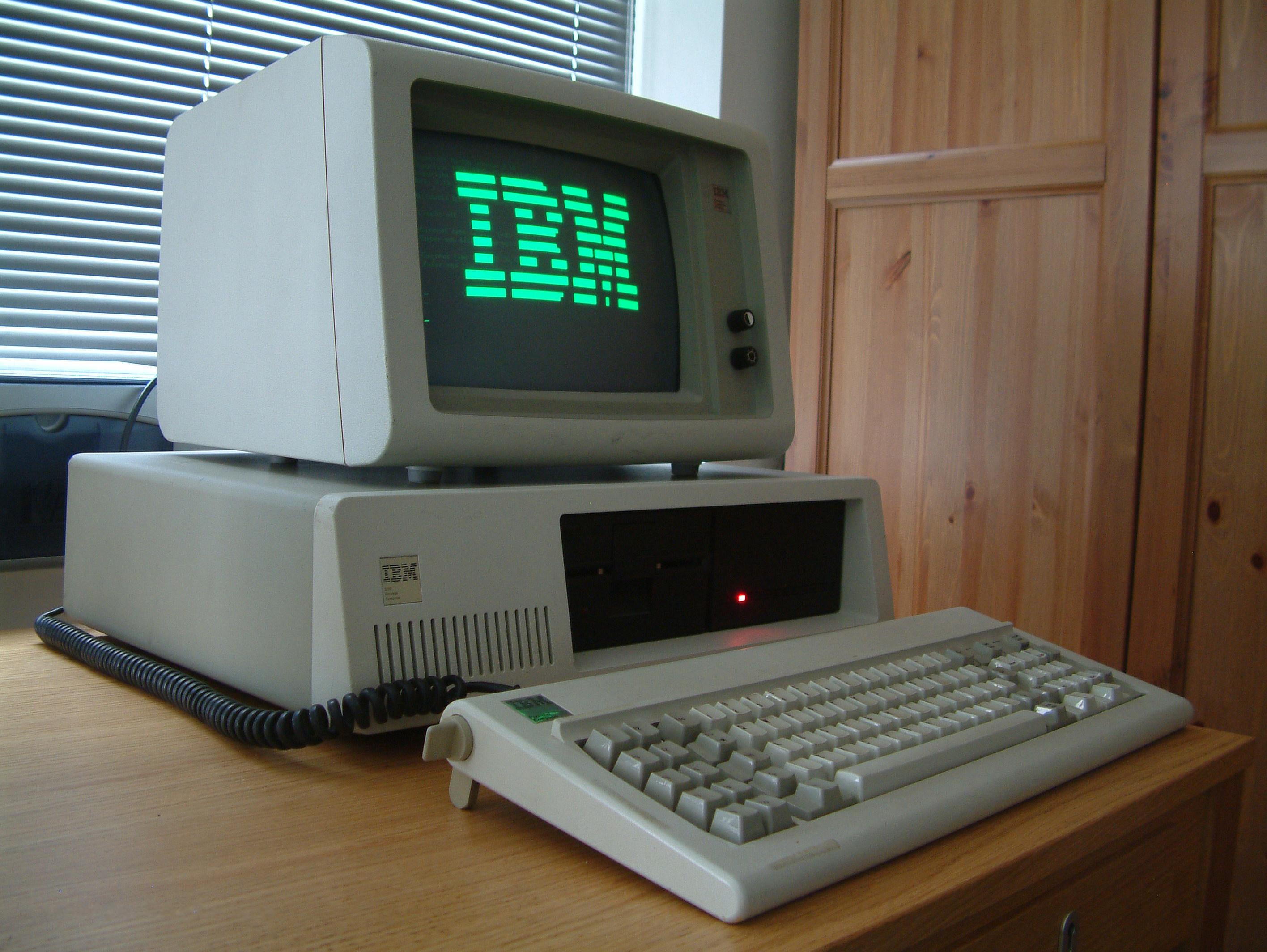 Negyven éves az IBM PC
