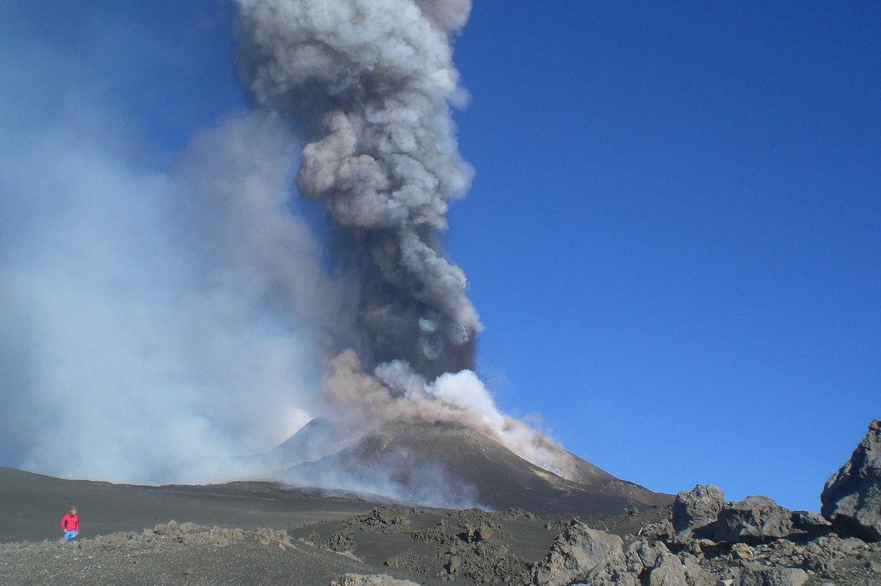 Az Etna 30 méterrel magasabb, mint 6 hónappal ezelőtt