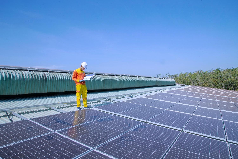 A megújuló energiaforrásból termelt villamos energia csaknem 60 százalékát napenergia biztosította