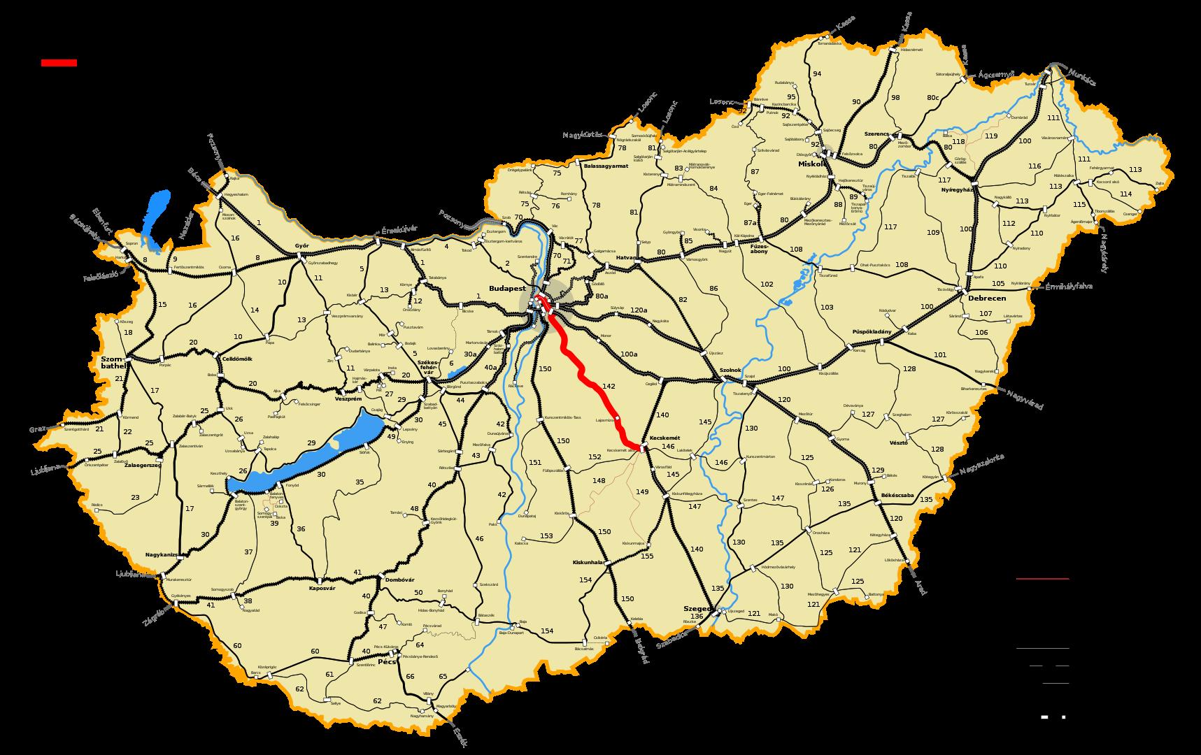 Megkezdődik a Budapest-Lajosmizse-Kecskemét vasútvonal felújításának tervezése
