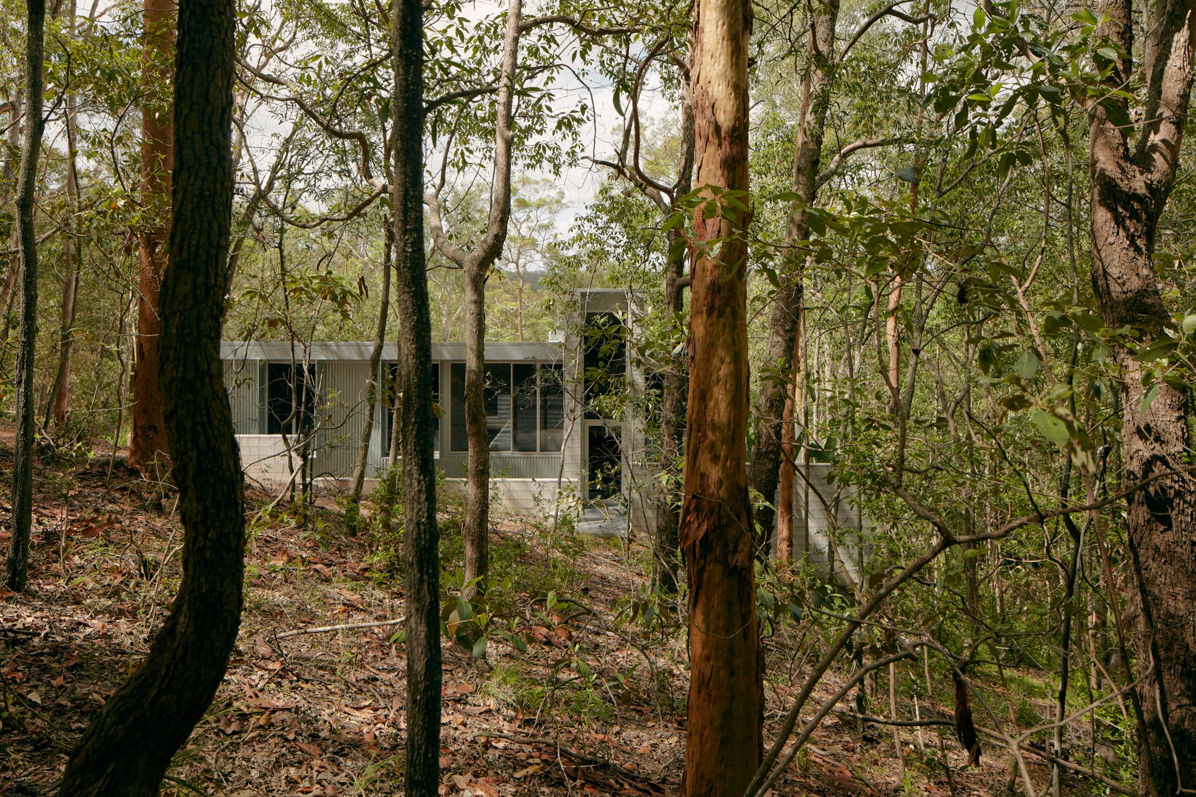Bozóttűznek ellenálló ház épült Ausztráliában