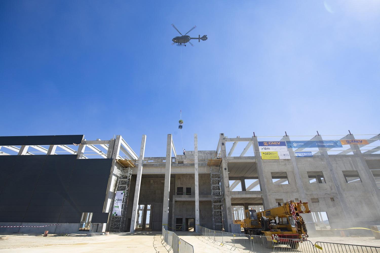 Júliusban 22,5 százalékkal nőtt az építőipar termelése