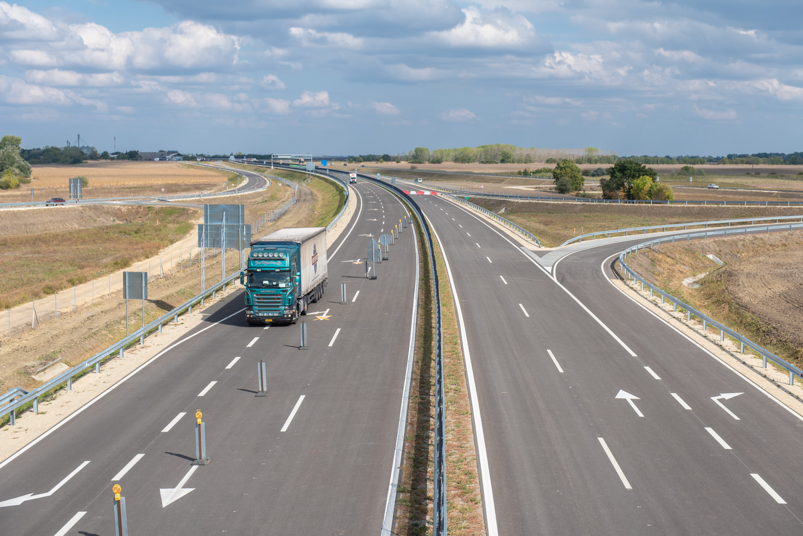 Újabb szakasszal bővült az M44-es gyorsforgalmi út