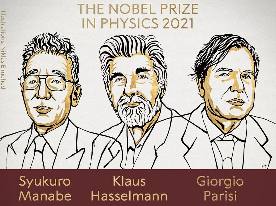 A komplex fizikai rendszerek kutatásáért hárman kapják a fizikai Nobel-díjat